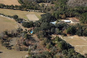 Aerial view of Wellborn QH